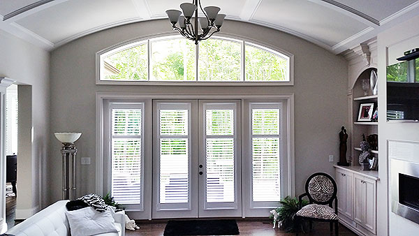 indoor wood shutters installer